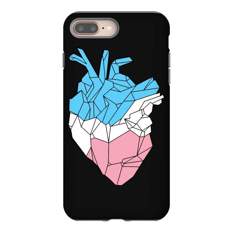 Trans Heart Iphone 8 Plus Case   Artistshot