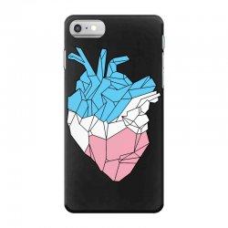 trans heart iPhone 7 Case   Artistshot