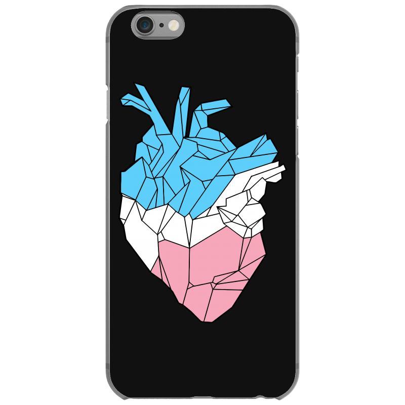 Trans Heart Iphone 6/6s Case   Artistshot