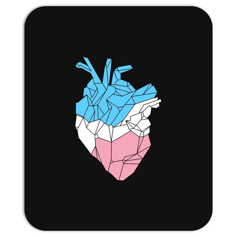 Trans Heart Mousepad   Artistshot