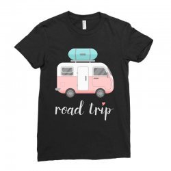 road trip Ladies Fitted T-Shirt | Artistshot