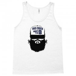 2 15  chick beard bearded beards Tank Top   Artistshot