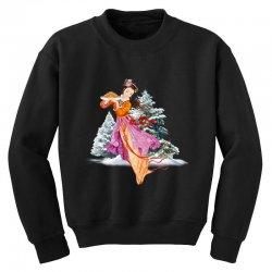 snow princess Youth Sweatshirt   Artistshot