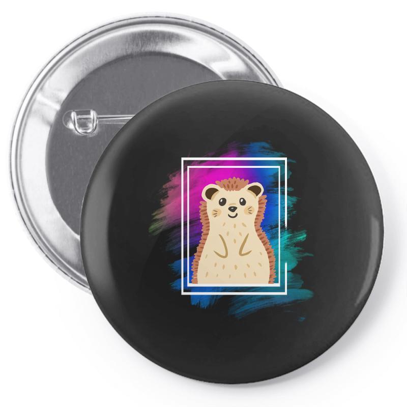 The Spring Hedgehog Pin-back Button | Artistshot