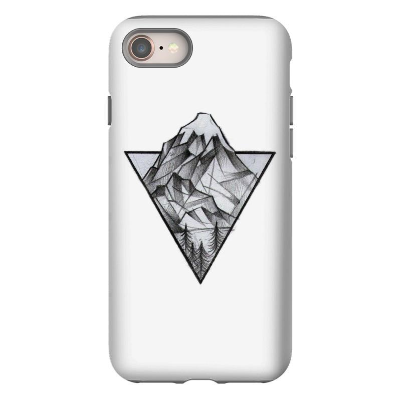 Triangle Mountain Iphone 8 Case   Artistshot