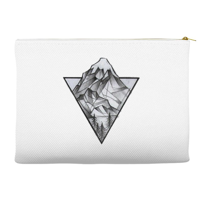 Triangle Mountain Accessory Pouches | Artistshot