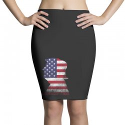 trump and american boarder Pencil Skirts | Artistshot