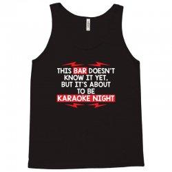 bar night Tank Top | Artistshot