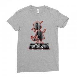 travel city Ladies Fitted T-Shirt   Artistshot