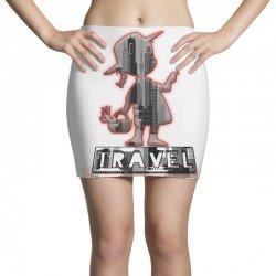 travel city Mini Skirts   Artistshot
