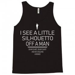 silhouetto of a man Tank Top | Artistshot