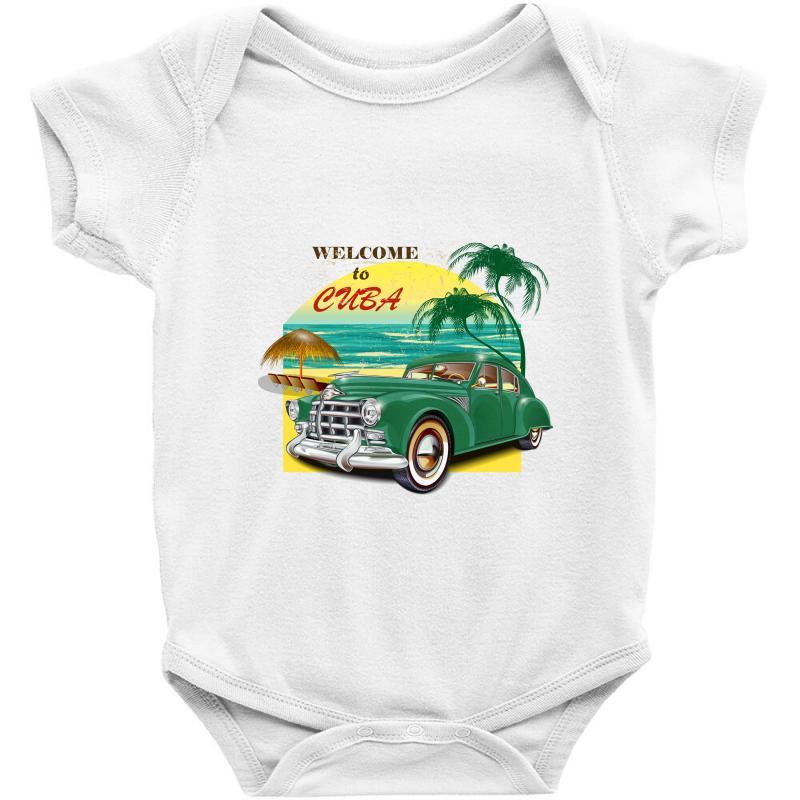 Welcome To Cuba Baby Bodysuit | Artistshot