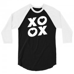 xoxo 3/4 Sleeve Shirt   Artistshot