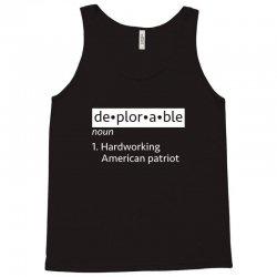 deplorable patriot Tank Top   Artistshot