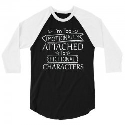 too attached 3/4 Sleeve Shirt   Artistshot