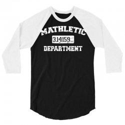 mathletic 3/4 Sleeve Shirt | Artistshot