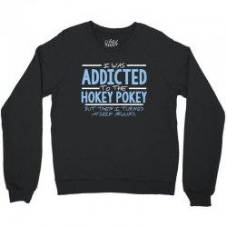 addicted hokey Crewneck Sweatshirt | Artistshot