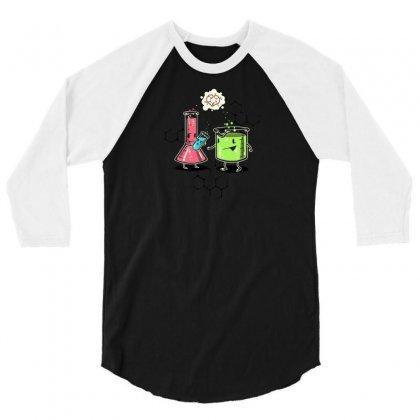 Test Tube Baby 3/4 Sleeve Shirt Designed By Katabudi
