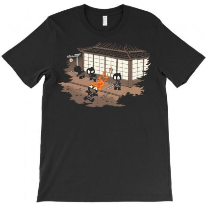 Unstealthiest Ninja T-shirt Designed By Sayasiti