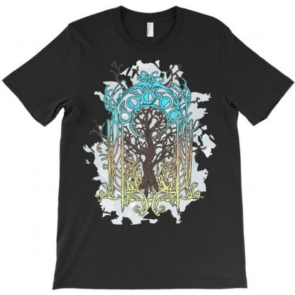 Yggdrasil Tree T-shirt Designed By Setia15ginting