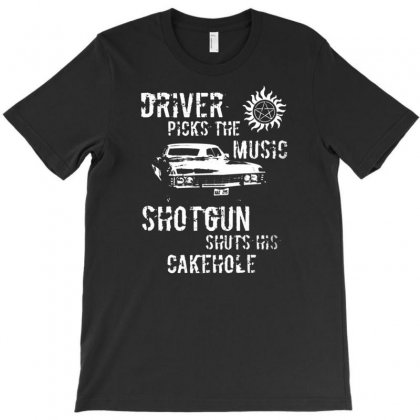Driver Picks Music Mens T Shirt Supernatural Winchester Brothers Fashion Design T-shirt Designed By Andryshop