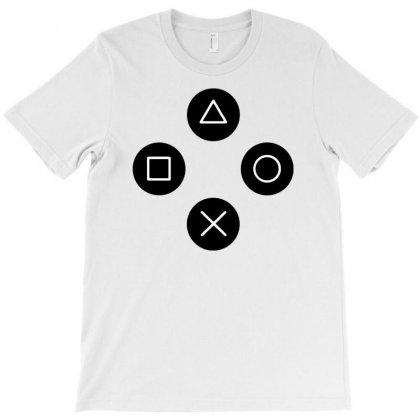Cool Gamers Controller Joystick T-shirt Designed By Narayatees