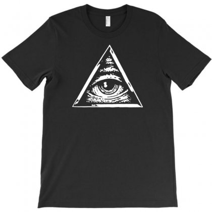 The Eye Of God Illuminate T-shirt Designed By Narayatees