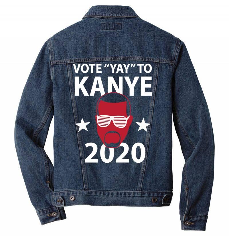 Kanye 2020 Men Denim Jacket   Artistshot