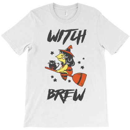 Witch Brew T-shirt Designed By Vanode Art