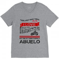 This Fiance Loves Motorcycles V-Neck Tee | Artistshot