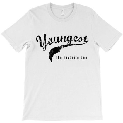 Youngest Child The Favorite One   Fun Logo T-shirt Designed By Vanode Art