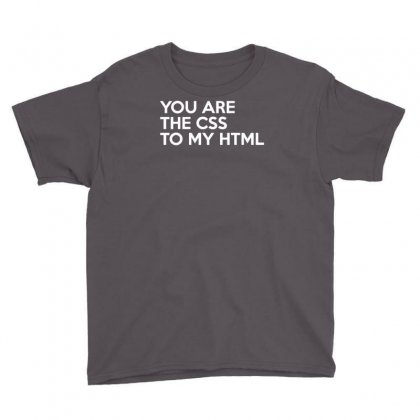 Css To My Html Youth Tee Designed By Yoseptees