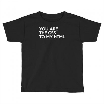 Css To My Html Toddler T-shirt Designed By Yoseptees