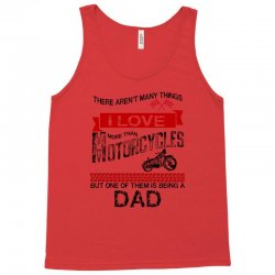 This Dad Loves Motorcycles Tank Top | Artistshot