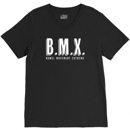 Bowel Movement Extreme V-neck Tee Designed By Ditreamx
