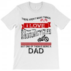 This Dad Loves Motorcycles T-Shirt | Artistshot