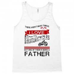 This Father Loves Motorcycles Tank Top | Artistshot