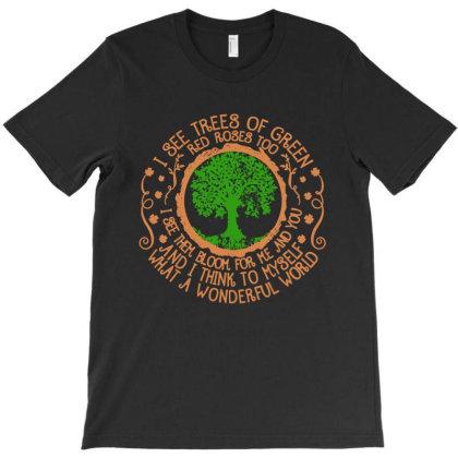 Trees Of Green T-shirt Designed By Frizidan