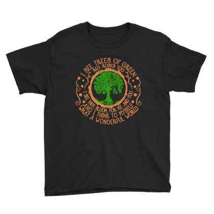 Trees Of Green Youth Tee Designed By Frizidan