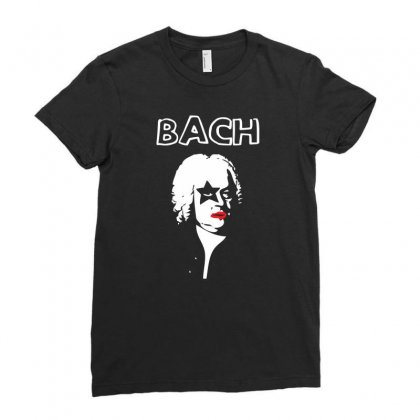 Bach Ladies Fitted T-shirt Designed By Specstore