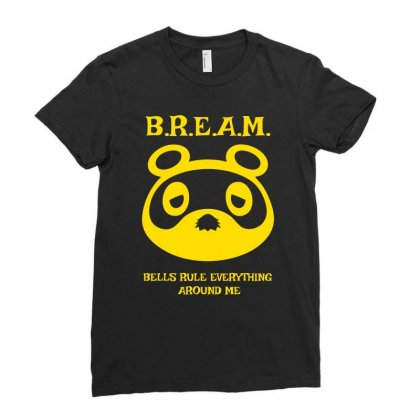 Bells Rule Everything Around Me Ladies Fitted T-shirt Designed By Specstore