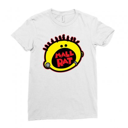 Mall Rat Ladies Fitted T-shirt Designed By Specstore