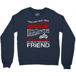 This Friend Loves Motorcycles Crewneck Sweatshirt | Artistshot
