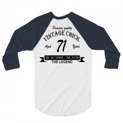 wintage chick 71 3/4 Sleeve Shirt | Artistshot
