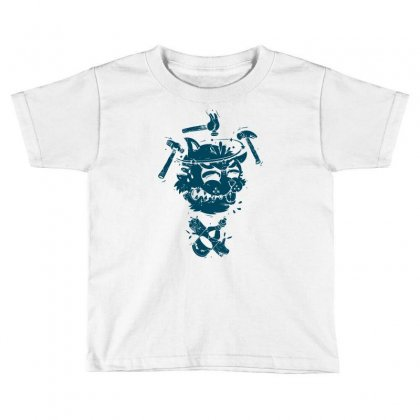 Dizzy Drunk Cat Toddler T-shirt Designed By Mdk Art