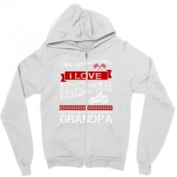 there arent many things i love more than motorcycles Zipper Hoodie | Artistshot