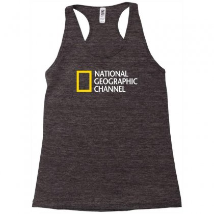 National Geographic Channel Racerback Tank Designed By Kharismabattle