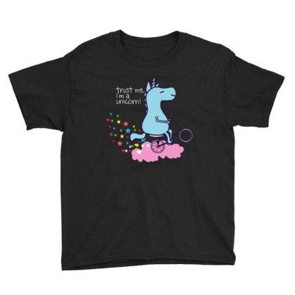 Trust Me I'am Unicorn Youth Tee Designed By Feniavey