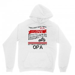 This Opa Loves Motorcycles Unisex Hoodie | Artistshot