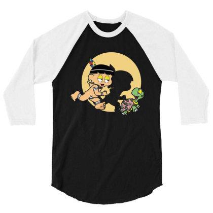 Tintin Curumim 3/4 Sleeve Shirt Designed By Feniavey